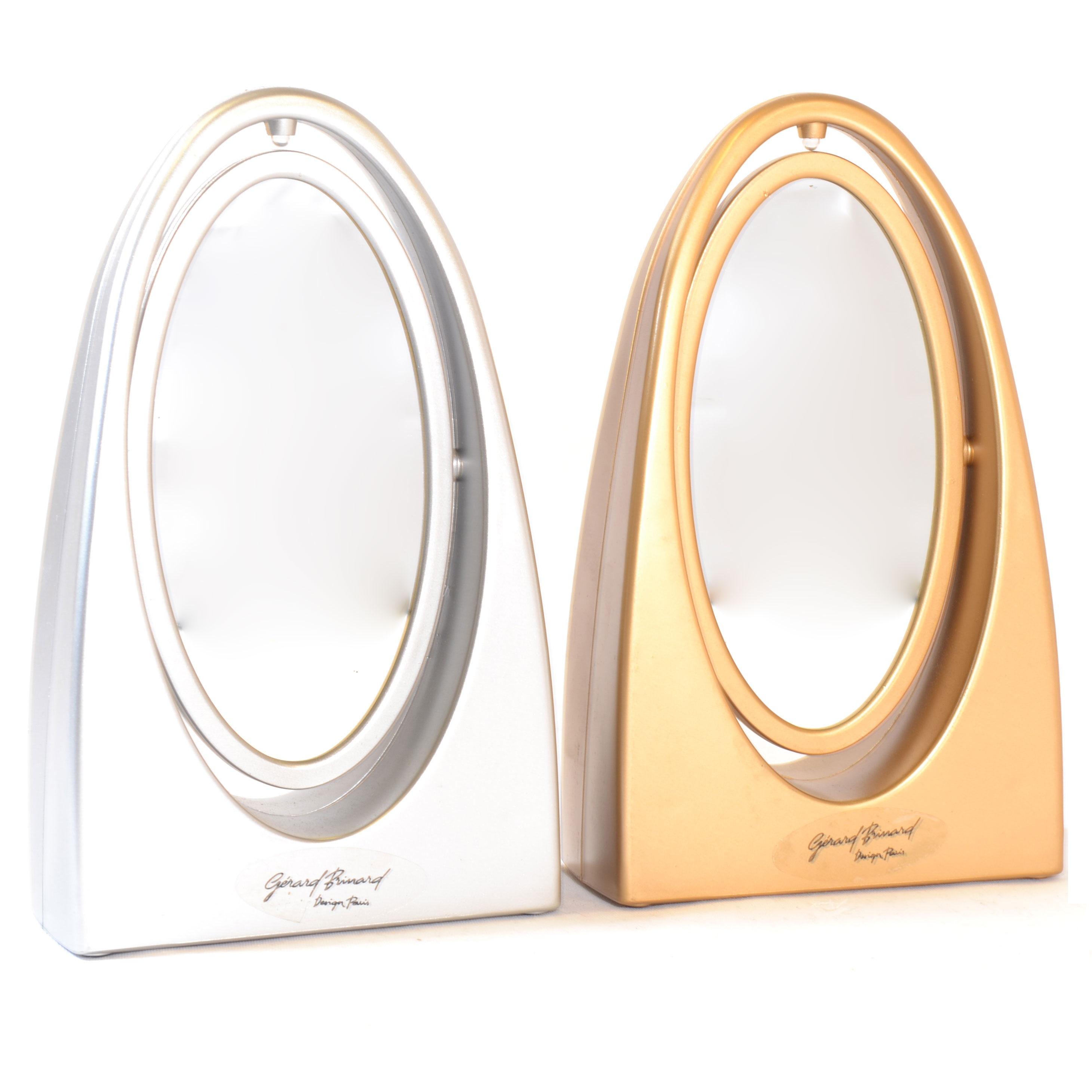 Make Up Spiegel Met Licht Goud Zilver Eurocompact Van