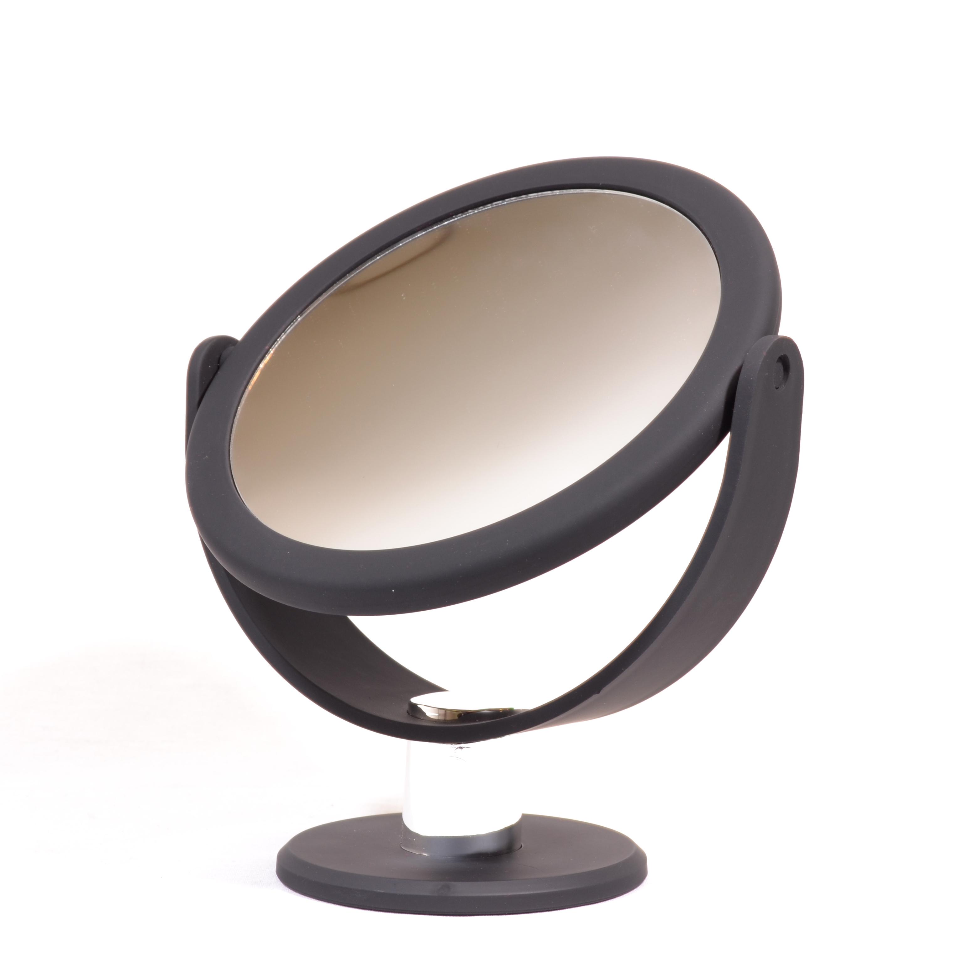 make up spiegel met rubbercoating 14 5cm 5x vergroting eurocompact van den brink b v. Black Bedroom Furniture Sets. Home Design Ideas