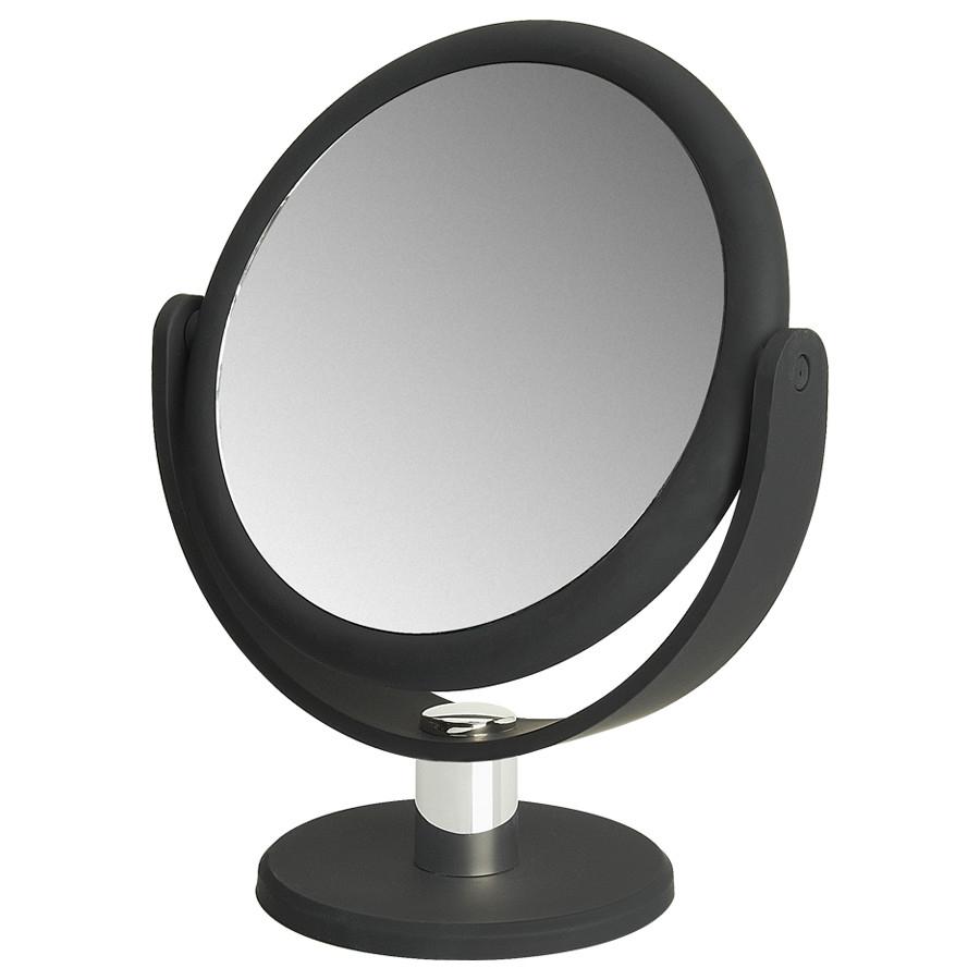 make up spiegel met rubbercoating 10 5cm 5x vergroting. Black Bedroom Furniture Sets. Home Design Ideas