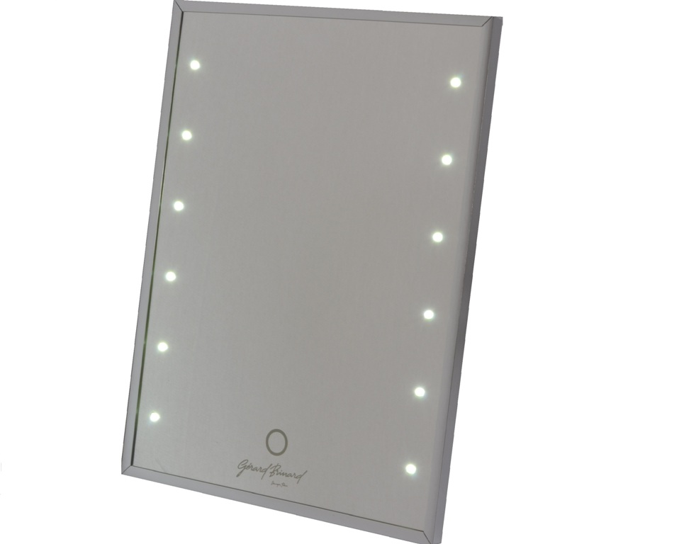 make up spiegel met touch led lichtjes 12 3 licht sterktes eurocompact van den brink b v. Black Bedroom Furniture Sets. Home Design Ideas